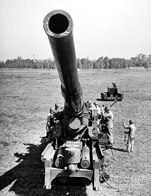 Photograph - Nuclear Artillery, 1952 by Granger