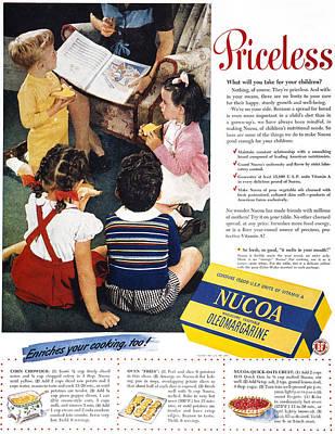 Margarine Photograph - Nucoa Advertisement, 1947 by Granger