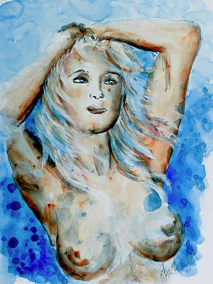 Painting - Nude 08 by Nik Helbig