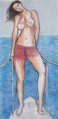 Painting - Nude 29 by Alex Rahav