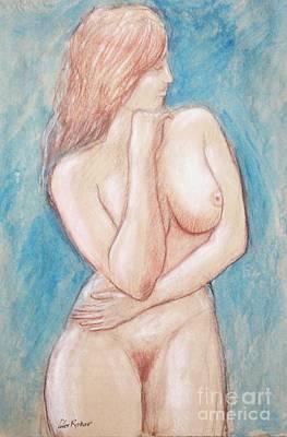 Painting - Nude 32 by Alex Rahav
