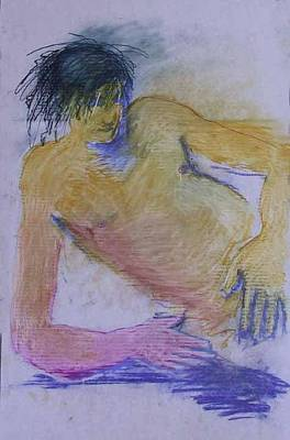 Painting - Nude 4248 by Elizabeth Parashis