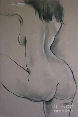 Nude Dancer Art Print by Rory Sagner