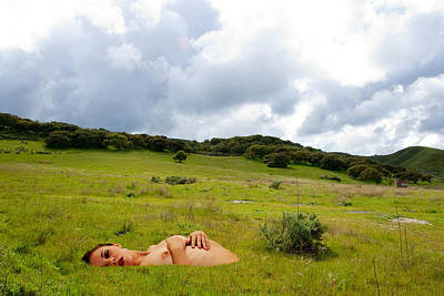 Photograph - Nude Landscape by Harry Spitz