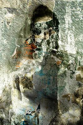 Art Print featuring the digital art Nude Stranger by Andrea Barbieri