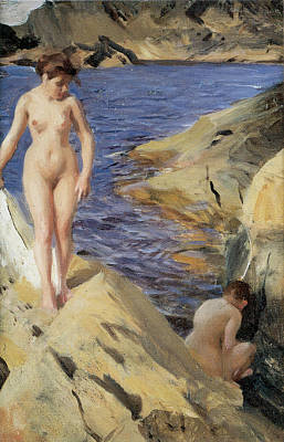 Nudes Art Print by Anders Zorn