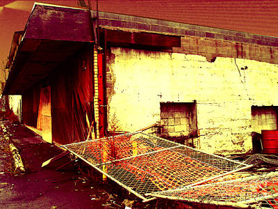 Photograph - Nuked Warehouse by Silvie Kendall