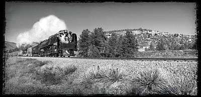 Union Pacific 844 Photograph - Number 844 by Larry McManus