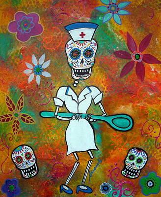 Nurse Art Print by Pristine Cartera Turkus