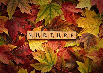 Photograph - Nurture-autumn by  Onyonet  Photo Studios