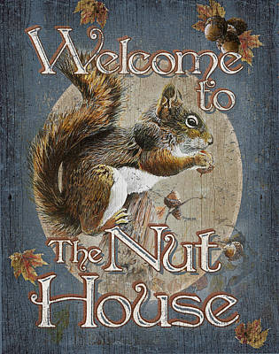 Statement Painting - Nut House by JQ Licensing