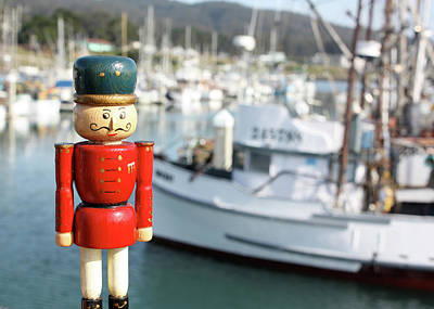 Photograph - Nutcracker At The Harbor by Susan Alvaro