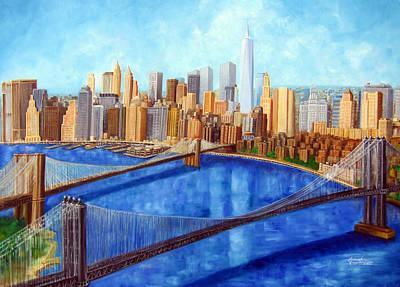 Ny City Resurrection Print by Leonardo Ruggieri