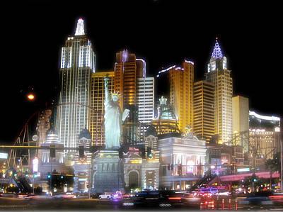 Tropicana Las Vegas Photograph - Ny In Vegas by Rod Jones