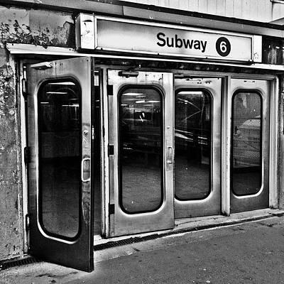 Retro Wall Art - Photograph - #ny #metro by Joel Lopez