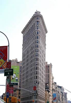 Nyc - The Flatiron Building Art Print