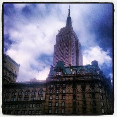 Icon Wall Art - Photograph - #nyc #architecture #buildings #icon by Steven Young
