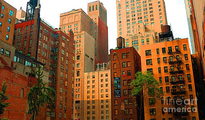 Photograph - Nyc Buildings by Nancy Greenland