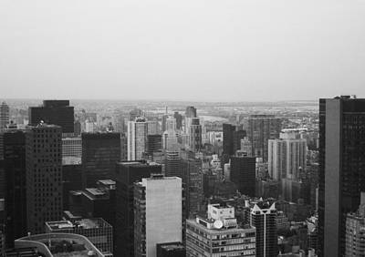 Intersection Photograph - Nyc From The Top 3 by Naxart Studio