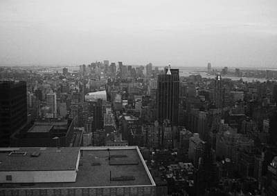 Intersection Photograph - Nyc From The Top 5 by Naxart Studio