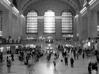 Bass Digital Art - Nyc Grand Central Station by Mike McGlothlen
