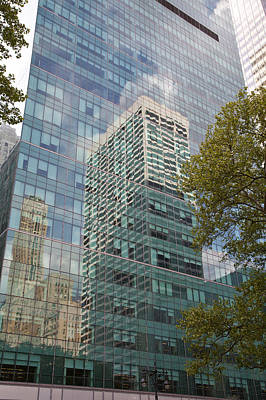 Photograph - Nyc Reflection 1 by Art Ferrier