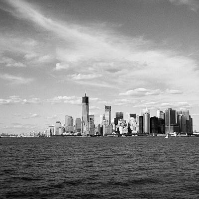 New York City Skyline Wall Art - Photograph - Nyc Skyline by Oliver Wintermantel