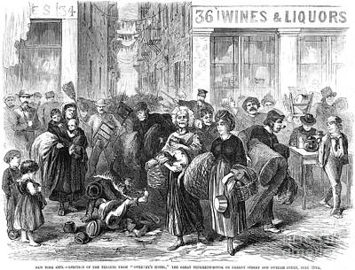 Nyc: Tenement Life, 1871 Art Print