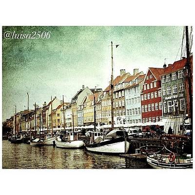 Cool Wall Art - Photograph - Nyhavn by Luisa Azzolini