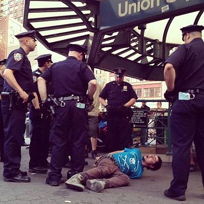 Summer Photograph - Nypd by Randy Lemoine