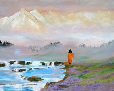 Yogananda Painting - O God Beautiful by Jyotish Novak