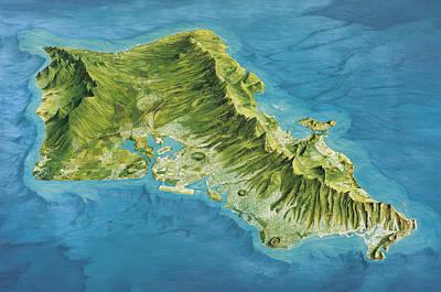 Oahu Island, Hawaii, Usa Art Print by Gary Hincks