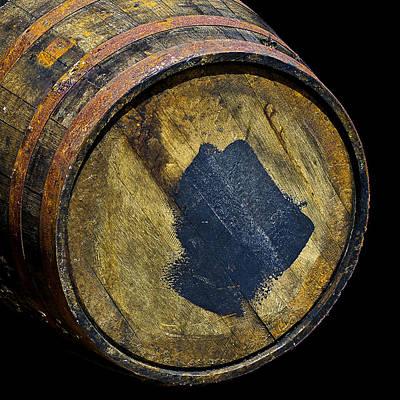 Photograph - Oak Barrel Marked by LeeAnn McLaneGoetz McLaneGoetzStudioLLCcom