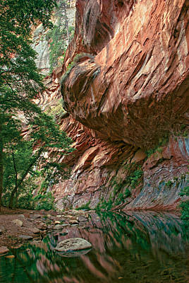 Photograph - Oak Creek Canyon Walls by Dave Dilli