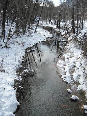 Photograph - Oak Creek Winter by Sandy Tracey
