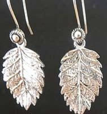 French Wires Jewelry - Oak Leaves by Joan  Jones