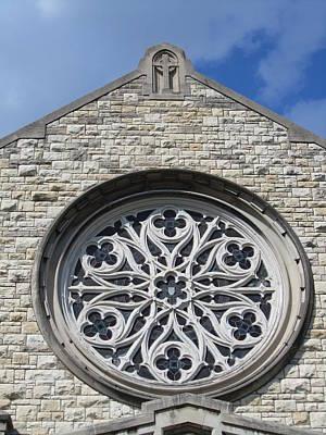 Photograph - Oak Park Church by Todd Sherlock