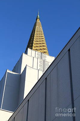 Oakland California Temple . The Church Of Jesus Christ Of Latter-day Saints . 7d11338 Art Print by Wingsdomain Art and Photography