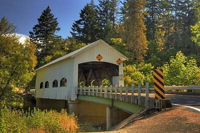 Photograph - Oakland Covered Bridge by Tyra  OBryant