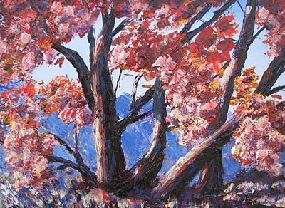 Painting - Oaks Of The Tesesquite by Don Hutchison