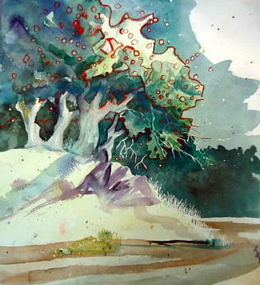 Painting - Oaks by Steven Holder
