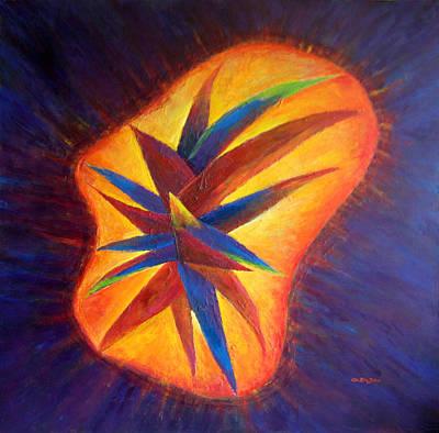 Oasis II-banned Love Art Print