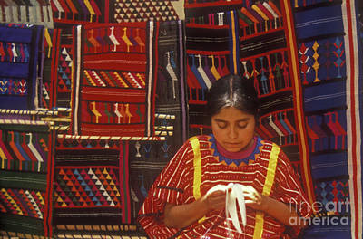Photograph - Oaxaca Weaver by John  Mitchell