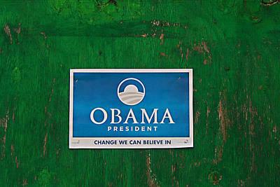 Obama For President Art Print