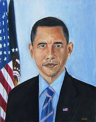 Obama Painting - Obama by Joseph Love