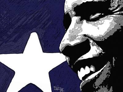 Obama Art Print by Patrizio Farinacci