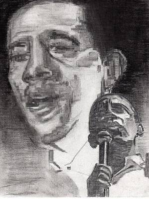 Barrack Obama Drawing - Obama's Hope by Mary Watson