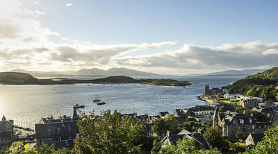 Oban Bay View Art Print