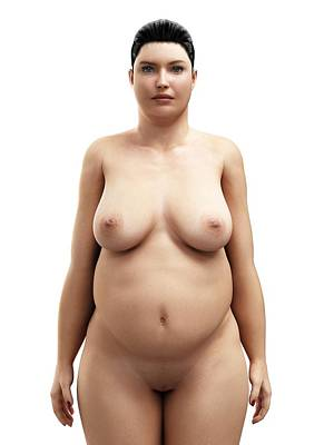 Slightly fat women nude