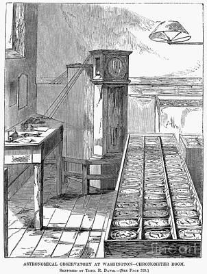 Observatory: Chronometer Art Print by Granger
